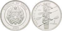 1 Pa´anga 2003, Tonga, Olympiade Athen 2004 - Vierer Ruderer, PP  26,00 EUR  +  9,90 EUR shipping