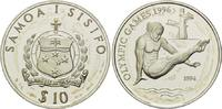 10 Tala 1994, Samoa, Olympische Spiele Atlanta 1996 - Turmspringen, anl... 26,00 EUR  +  9,90 EUR shipping