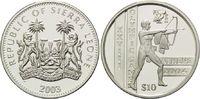 10 Dollars 2003, Sierra Leone, Olympische Spiele Athen 2004 - Antiker B... 29,00 EUR  +  9,90 EUR shipping