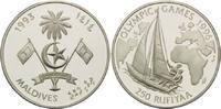 250 Rupien 1993, Malediven, Olympische Spiele Atlanta 1996 - Segelboot ... 26,00 EUR  +  9,90 EUR shipping
