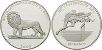 10 Francs 2003, Kongo Demokratische Republik, Olympische Spiele Athen 2... 26,00 EUR  +  9,90 EUR shipping