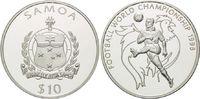 10 Tala 1998, Samoa, Fußball WM 98 Frankreich, Spieler vor Gallischem H... 18,50 EUR  +  9,90 EUR shipping