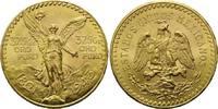 50 Pesos 1943, Mexiko, Centenario, winz.Rf...