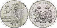 10 Dollars 2003, Sierra Leone, Olympischen Sommerspiele 2004 in Athen, PP  29,00 EUR  +  9,90 EUR shipping