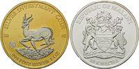50 Kwacha 2010, Malawi, Springbock, Teilvergoldet und -rhodiniert, st  45,00 EUR  +  9,90 EUR shipping