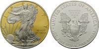 Dollar 2010, USA, American Eagle, Teilvergoldet und -rhodiniert, st  45,00 EUR  +  9,90 EUR shipping