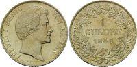 Gulden 1848, Bayern, Ludwig I., 1825-1848,...