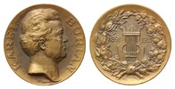 Br.-Medaille 1921 Musik, BURIAN, KAREL. *1870, +1924, Tschechischer Ten... 32,00 EUR  plus 9,90 EUR verzending