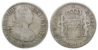 2 Reales 1805 TH Mexiko, Karl IV., 1788-1808, f.ss  23,00 EUR  +  9,90 EUR shipping