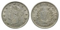 USA, 5 Cents 1883,  f.vz Liberty Head Nickel, 24,50 EUR free shipping