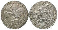 Mansfeld, Vorderortlinie Bornstedt, Gulden =2/3 Taler 1675 ABK,Eisleben. Alt Franz Maximilian und Heinrich Franz, 1644-1692,