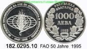 1000 Lewa 1995 Bulgaria Bulgarien *219 KM214 FAO 50 Jahre . 182.0295.10... 28,00 EUR  +  8,95 EUR shipping