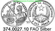 20.000 Pesos 1994 Guinea Bissau *23 KM41 50 Jahre FAO . 374.0027.10  PP  45,00 EUR  +  8,95 EUR shipping
