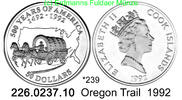 Cook Islands 50 Dollars 1992 PP  . *239 Oregon Trail 500 J. Amerika 43,50 EUR