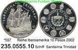 10 Pesos 2002 Cuba Kuba  . *597 Iberoamerika Schiff PP  75,00 EUR  +  8,95 EUR shipping