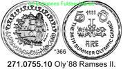 5 Pounds 1988 Ägypten Egypt *366 Oly´88 Ramses II. PP  65,00 EUR  +  8,95 EUR shipping