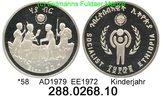 20 Birr 1979 Ethiopia Äthiopien *58 Jahr des Kindes . 288.0268.10  PP  28,25 EUR