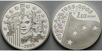 1,5 Euro Silber 2005 Frankreich Flagge mit vier Sternen .300.0461.10 PP  47,00 EUR  +  8,95 EUR shipping