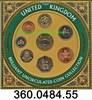 3,88 Pounds 1999 Great Britain Großbritannien Kurssatz KMS 1 Penny bis ... 21,75 EUR  +  8,95 EUR shipping