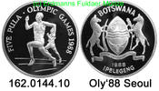 5 Pula 1988 Botswana *20 KM21 Oly´88 Seoul . 162.0144.10 PP  32,00 EUR  +  8,95 EUR shipping