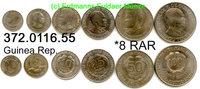 6 Werte 1959 Guinea Rep. Guinea Conakry *6ff Selten so als Komplettsatz... 170,00 EUR