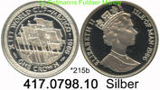 Isle of Man Insel Man 1 Crown 1986 PP *215b KM165b . Flaggen . .   417.0... 39,00 EUR