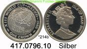 1 Crown 1986 Isle of Man Insel Man *214b KM164 FWM´86 Mexico Globus . 4... 32,75 EUR  +  8,95 EUR shipping