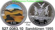 10 Dollars 1995 Namibia *7 KM8 Farbmünze Sanddünen PP  28,00 EUR  +  8,95 EUR shipping