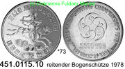 5000 Won 1978 Korea South Südkorea  . *73 KM23 Schützen-WM Bogenschütze... 75,00 EUR