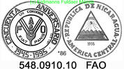 1 Cordoba 1995 Nicaragua *86 KM87 FAO 50 Jahre  PP  42,00 EUR