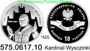 10 Zloty 2001 Poland Polen *425 KMY419 Wyszynski . 575.0617.10  PP  25,00 EUR