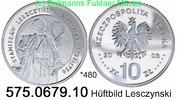10 Zloty 2003 Poland Polen *480 KMY475 Leszezynsky Hüftbild . 575.0679.... 55,00 EUR