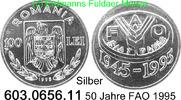 100 Lei 1995 Romania Rumänien *134 KM118 FAO 50 Jahre . 603.0656.11 unc... 35,50 EUR  +  8,95 EUR shipping