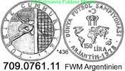 150 Lira 1978 Turkey Türkei *436 KM917 FWM´78 Argentinien  unc  29,00 EUR  +  8,95 EUR shipping