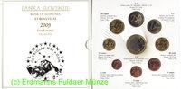 6,88 Euro 2009 Slovenia Slowenien Kursmünzensatz Blister . 651.0431.55 ... 34,00 EUR