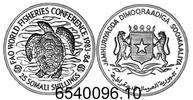 25 Shillings 1984 Somalia *40a Weltfischerei-Konferenz Suppenschildkröt... 155,00 EUR  +  8,95 EUR shipping