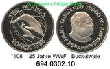 PP 1986 Tonga *108 WWF Buckelwal . PP  38,00 EUR  +  8,95 EUR shipping
