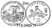 2 Hryvni 2001 Ukraine  . *138  Dschungelbuch Tiger usw. unc  23,50 EUR