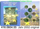 3,88 Euro 2002 Irland Kursmünzensatz 2002 original. 416.0604.55 unc  92,00 EUR  +  8,95 EUR shipping