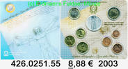 8,88 Euro 2003 Italien Kursmünzensatz 2003 original . 426.0251.55  unc  54,75 EUR