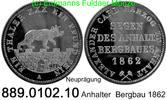 Taler 1862 Deutschland Anhalt AKS 17 Nachprägung . 889.0102.10  PP  25,00 EUR  +  8,95 EUR shipping