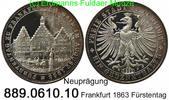 Taler 1863 Deutschland Frankfurt AKS45 Nachprägung . 889.0610.10  PP  25,00 EUR  +  8,95 EUR shipping