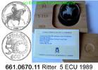 5 ECU 1989 Spanien Spain KMM2 . 661.0670.11 unc / BU  65,00 EUR  +  8,95 EUR shipping
