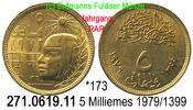 5 Milliemes  1979 / 1399 Ägypten *173 Mumienkopf . 271.0619.11 Jahrgang... 75,00 EUR  +  8,95 EUR shipping