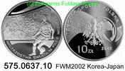 10 Zloty 2002 Poland *446 KMY434 FWM Korea-Japan . 575.0637.10  PP  25,00 EUR  +  8,95 EUR shipping