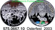 20 Zloty 2003 Poland *468 KMY452 Osterfest . 575.0667.10  PP  48,00 EUR