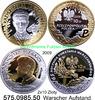 2x10 Zloty 2009 Polen Poland 65 Jahre Warschauer Aufstand . 575.0985.50... 45,00 EUR
