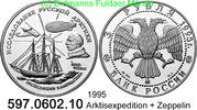 3 Rubel 1995 Russland *413 KMY462 Arktisexpedition Amundsen, Zeppelin .... 39,75 EUR