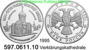3 Rubel 1995 Russland *418 KMY469 Verklärungskathedrale . 597.0611.10 PP  44,75 EUR  +  8,95 EUR shipping