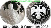 2 Rubel 2008 Russland Wuschetich, Bildhauer . 601.1080.10 PP  29,25 EUR  +  8,95 EUR shipping